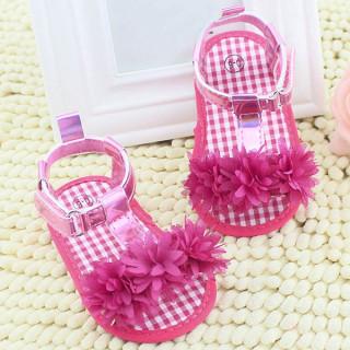 Detské sandálky s kvetmi