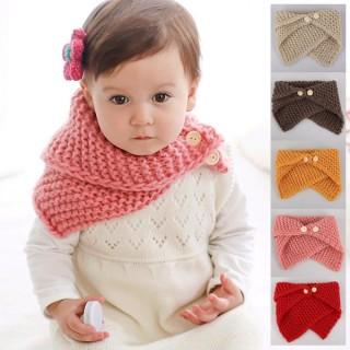 Detský vlnený šál (rôzne farby)