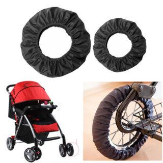 Ochranné návleky na kolesá kočíka (2 kusy)