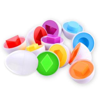 Montessori otváracie vajíčka (6 vajíčok)