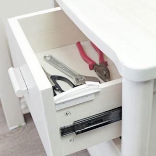 Bezpečnostná ochrana na zásuvky a šuplíky (4 kusy)