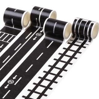 Lepiaca páska – Cesta alebo koľajnice