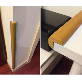 Ochrana rohov a hrán nábytku – penová (2 metre)